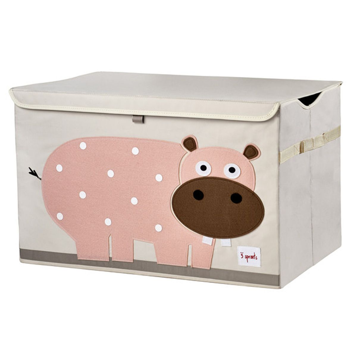 spielzeugkiste truhe 39 toy chest 39 nilpferd von 3 sprouts kaufen. Black Bedroom Furniture Sets. Home Design Ideas