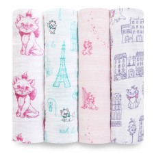 Disney Kollektion 'The Aristocats' Mulltücher 4er-Set von aden+anais