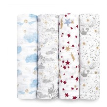 aden+anais - Bamboo Swaddle Mulltuch 'Donuts'