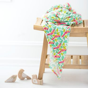 Mulltuch SWADDLE 'Birds Of Paradise'
