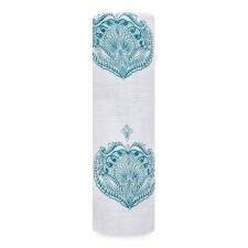 Mulltuch SWADDLE 'Paisley Teal' von aden+anais