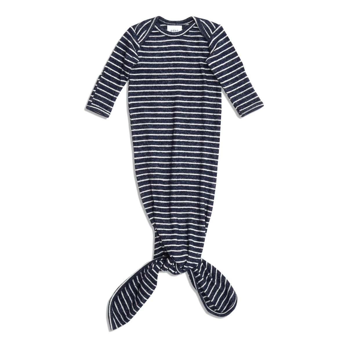 Schlafkleid Snuggle Knit 'Navy Stripe' 0-3 Monate