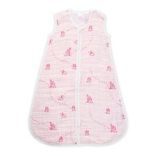 aden+anais - Sommer Schlafsack 'Twinkle Pink' Sterne pink