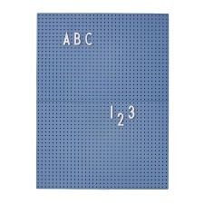 Message Board A4 blau von Design Letters