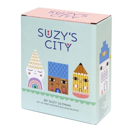 Holzfiguren 'Suzy's City'
