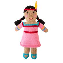 Strick-Puppe Indianerin Tipi Girl von global affairs