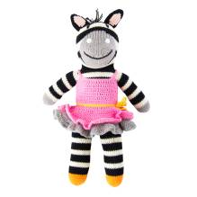 Stricktier Kuscheltier Zebra Zena von global affairs