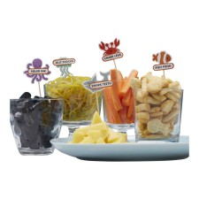 Unterwasserwelt Party 'Under the Sea' Food Sticks von Ginger Ray