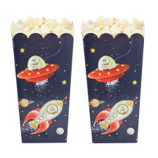 Weltraum Party 'Space Adventure' Popcorn Tüten von Ginger Ray