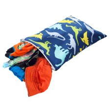 Beutel Wet Bag TRAVEL HAPPENS Dino-Mite! von itzy ritzy