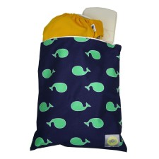 Beutel Wet Bag TRAVEL HAPPENS Whale von itzy ritzy