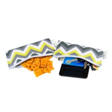 Snackbeutel SNACK HAPPENS MINI Sunshine Chevron von itzy ritzy