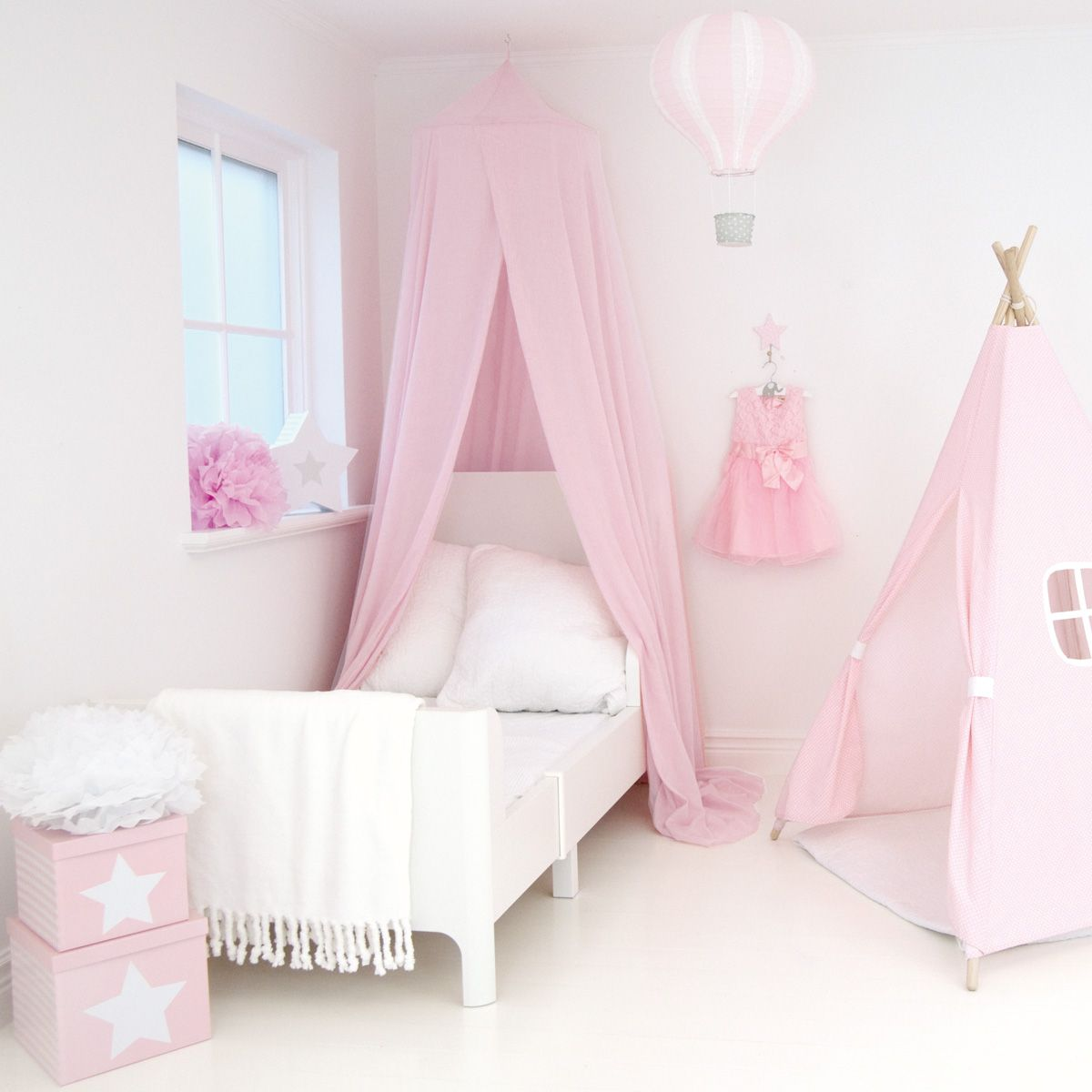 betthimmel baldachin rosa von jabadabado kaufen bei little roomers. Black Bedroom Furniture Sets. Home Design Ideas