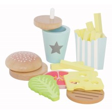JaBaDaBaDo - Hot Dog Set aus Holz