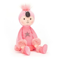 Stoffpuppe Perky 'Flamingo Flapper' von Jellycat