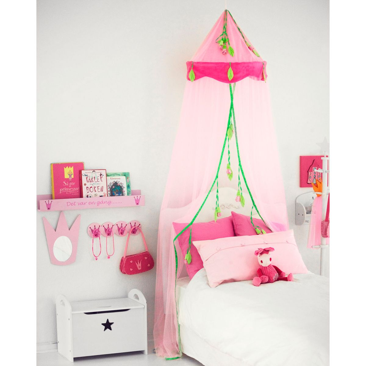 betthimmel prinzessin in rosa von kids concept kaufen. Black Bedroom Furniture Sets. Home Design Ideas