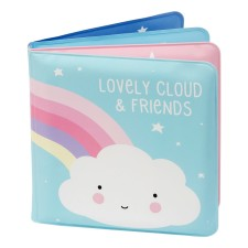 Badebuch 'Cloud & Friends' von A Little Lovely Company