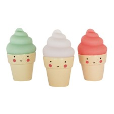 Figuren Minis 'Ice creams' Eis von A Little Lovely Company