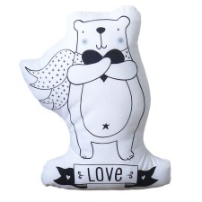 Kissen 'Bear Love' von A Little Lovely Company