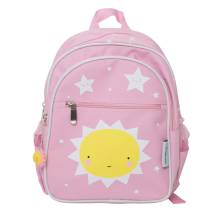 Rucksack 'Miss Sunshine' Sonne rosa von A Little Lovely Company