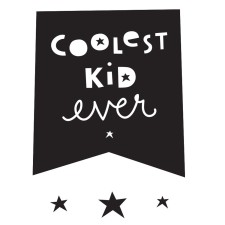 Wandsticker 'Coolest Kid Ever' von A Little Lovely Company
