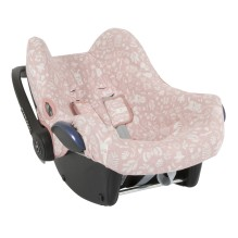 Babyschalen Bezug - Adventure Pink von Little Dutch