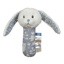 Greifling mit Rassel Hase - Adventure Blue von Little Dutch