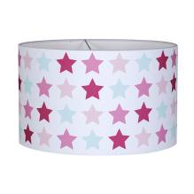 Hängelampe rund - Mixed Stars Pink von Little Dutch