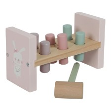 Hammerbank Holz - Adventure Pink von Little Dutch