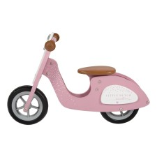 Holz-Roller Laufrad in Pink von Little Dutch