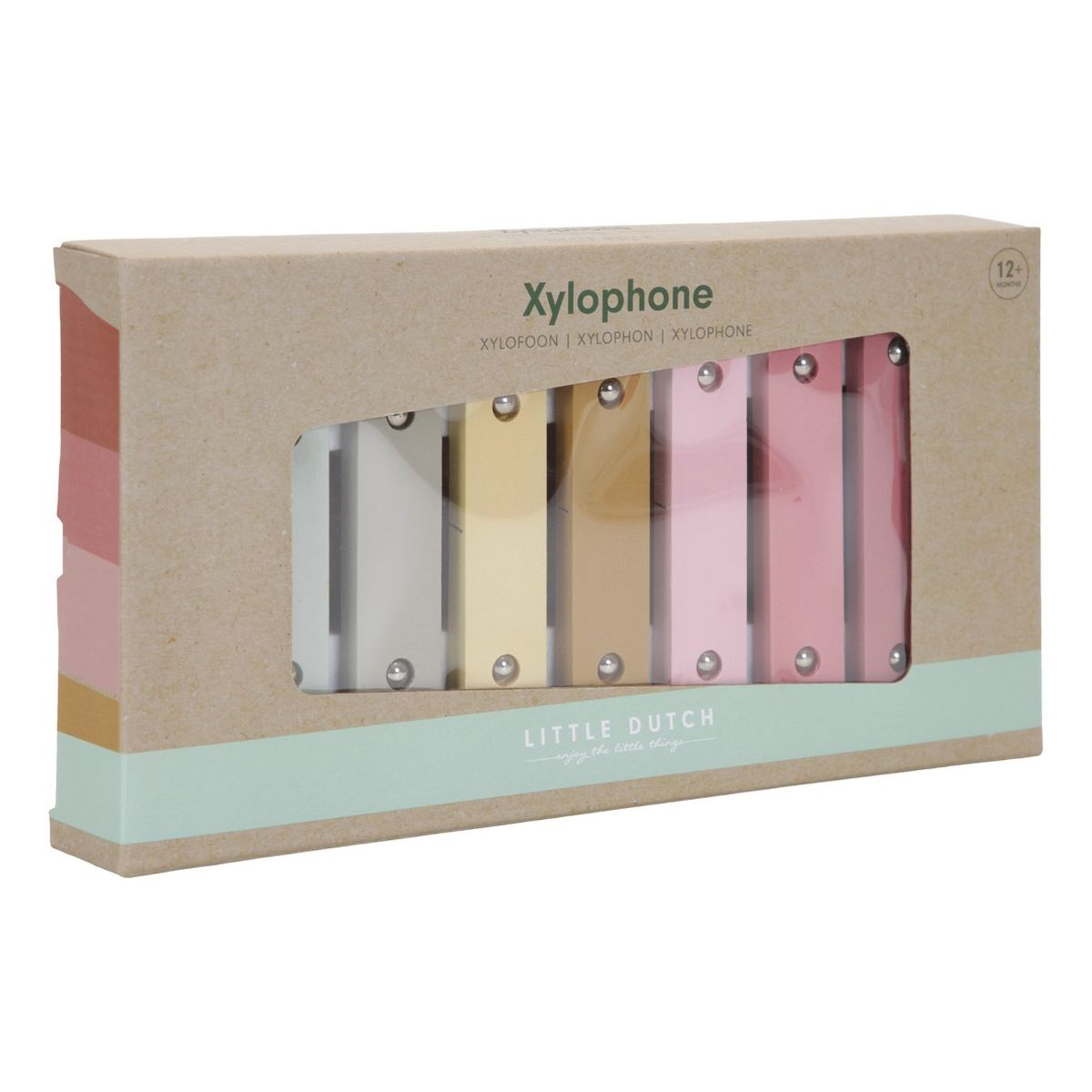 Holz Xylophon Pink