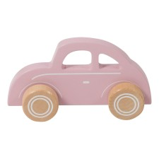 Holzauto 'Beetle' rosa von Little Dutch