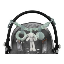 Kinderwagenkette Hase - Adventure Mint von Little Dutch