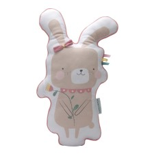 Kissen Hase - Adventure Pink von Little Dutch