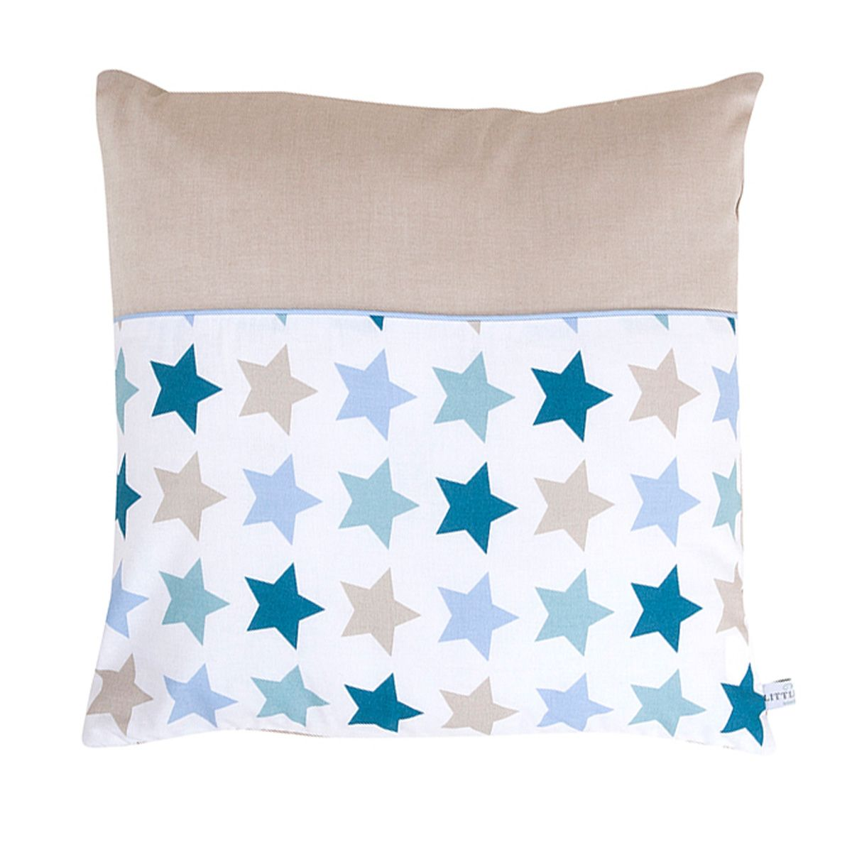 kissen mixed stars mint 40x40cm von little dutch kaufen. Black Bedroom Furniture Sets. Home Design Ideas