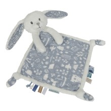 Kuscheltuch Hase - Adventure Blue von Little Dutch