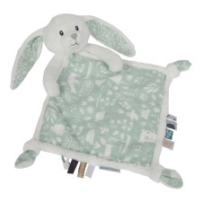 Kuscheltuch Hase - Adventure Mint von Little Dutch