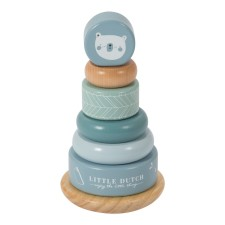 Ring-Stapelturm - Adventure Blue von Little Dutch