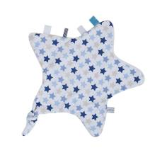 Schmusetuch Stern - Mixed Stars Blue von Little Dutch