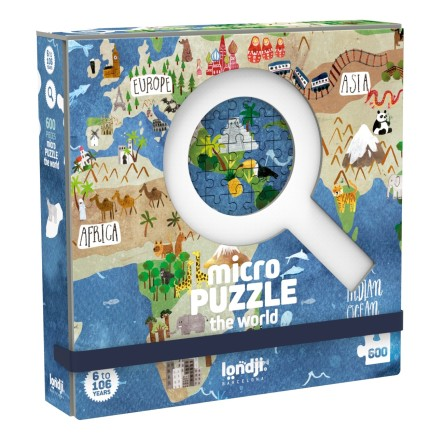 Micro Puzzle 'World' 600 Teile