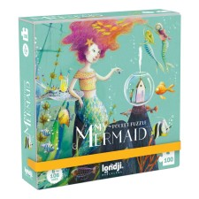 Pocket Puzzle 'My Mermaid' 100 Teile von londji