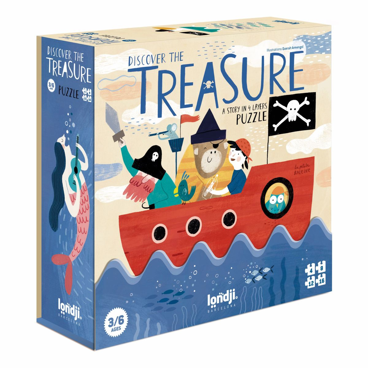 Puzzle 'Discover the Treasure'
