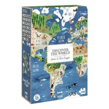 Puzzle 'Discover The World' 200 Teile von londji