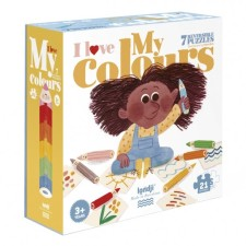 Puzzle 'I love my colours' von londji