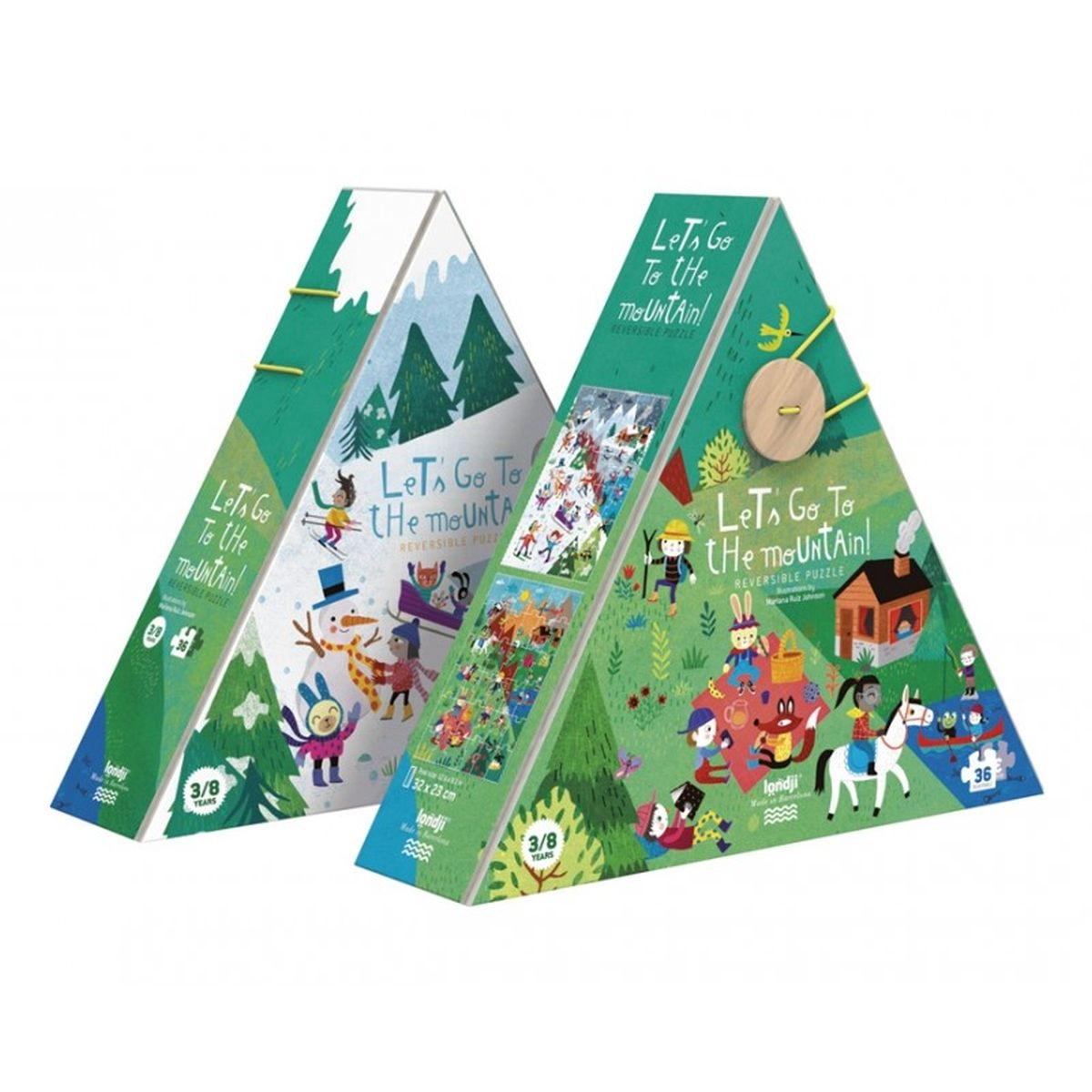Puzzle 'Let's go to the Mountain'