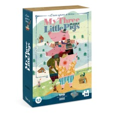 Puzzle 'My 3 Little Pigs' von londji