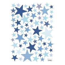 Lilipinso - Wandsticker 'My Superstar' Sterne mint