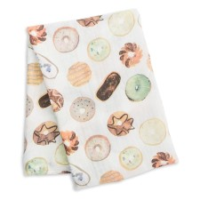 Bamboo Swaddle Mulltuch 'Donuts' von lulujo