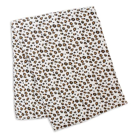 Bamboo Swaddle Mulltuch 'Leopard'