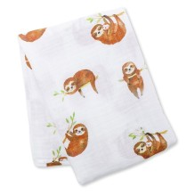 lulujo - Bamboo Swaddle Mulltuch 'Donuts'
